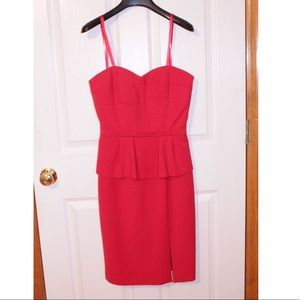 BCBGMAXAZARIA Red Dress